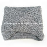 Acrylic Knitted Infinity Fashion Scarf