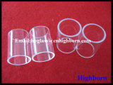Clear Fused Silica Quartz Glass Flange