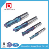 HRC45/55/60/65 High Precision 2 Flute Carbide End Mill Machine Tools for Carbon Steel
