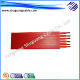 High Temperature Resistant Silicone Rubber Insulated and Sheathed Soft Flexible Cable