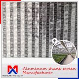 Shade Rate 55%-90% Outside Aluminum Shade Screen Cloth Net for Greenhouse