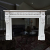Simple Granite Stone Carving Home Decoration Sculpture Statue Heater Marble Fireplace