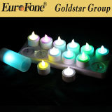 Colorful LED Rechargeable Candle
