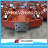 Low Price Sand Casting Molding Line Used Pallet Car for Foundry
