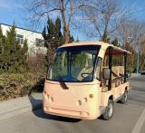 High Quality Low Speed Best Price Luxury 11 Seater Sightseeing Car Shuttle Bus