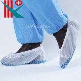Disposable PP Non-Woven Non-Skid / Non-Slip Shoe Cover, with Non-Skid / Non-Slip Printing on The Sole, Made by Machine