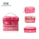 Fashion Transparent Plastic Heat Seal Sewing Zipper Clear PVC Cosmetic Bag