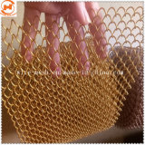 Aluminum/Stainless Steel Material Decorative Wire Mesh for Curtain Wall