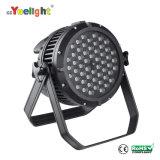Wholesale Price RGBW 4 in 1 LED 54 PCS 3W Waterproof PAR Light