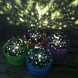 LED Night Light Projector Star Projector Lamp