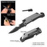Survival Knife with LED Flashlight & Bottle Opener (#3486-BO)