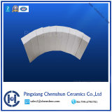 Dust Removal Pipe, Elbow and Leterals Alumina Ceramic Pipe Tile