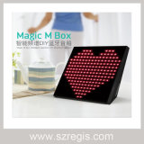 Portable LED Display APP Smart Control Wireless Bluetooth Speaker Box