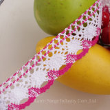 4cm Cotton Crochet Lace for Fashion Decoration