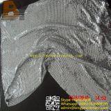 Aluminum Silvery Metal Sequin Cloth Curtain