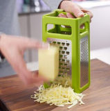 4 in 1 Multi-Functional Vegetable Stainless Steel Fold Flat Grater