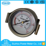 60mm Stainless Steel Case Back Type Bellows Pressure Gauges with U-Clamp