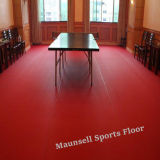 China Facroty Sale PVC Sports Flooring for Table Tennis with 10mm