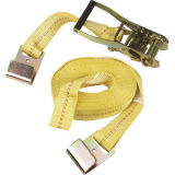 Polyester Retractable Ratchet Tie Down Straps According to En 12195-2