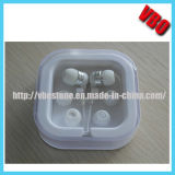 White Earphone with Attractive Crystal Box