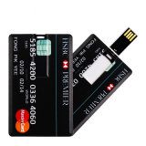 Customize Credit Card USB Flash Drive OEM USB Memory Pendrive