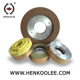 Segmented Continuous-Rim Wet Triming Wheel