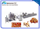 Full Automatic Twin Color Soft Candy Production Line 500kg/H