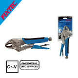 """Fixtec Cr-V 10"""" Curved Jaw Lockling Plier with TPR Handle"""