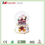 Hand-Painted Polyresin Craft Christmas Santa Snow Globe for Homedecoration and Souvenir Gift, Water Globe OEM Designs Welcome