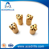 Short Skirt Rock Drill Taper Tungsten Carbide Button Drill Bit