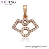 Xuping Europe Hot Sales Gold Plated Mary Jewelry Necklace Pendant