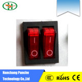 Hot Sale One Position Rocker Switch on Controller for Incubators