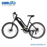 26 Inch MTB Electric Bike/Ebike with Half Hidden Battery for Women