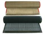 Heat Temperature PTFE Coated Fiberglass Teflon Mesh Conveyor Belt