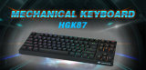 87 Keys Mechanical Keyboard/USB Gaming Keyboard (HGK87)