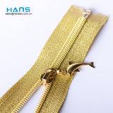 CS Top Wholesale Custom Clothing Cheap Gold Open End Zipper