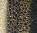 PVC Shinny Leather with Beautiful Pattern