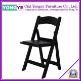 PP Resin Folding Chair at Black