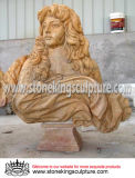 Stone Carved Bust Statue for Home and Garden (SK-1306)