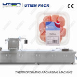 2018 Best Price Automatic Vacuum Map Packaging Machine for Poultry Chicken Meat
