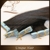 Wholesale European Virgin Natural Black Double Drawn Tape in Extensions