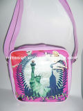 Artificial Leather Girls Single Shoulder School Bags (MS8018)
