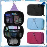 Bw1-191 Wholesale Professional Custom Canvas Travel Cosmetic Makeup Bag