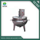 Industrial Tilting Type Steam Heating Double Jacketed Kettle with Mixer