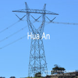 Electric Transmission Steel Tower Hot Galvanized High Voltage AC Power