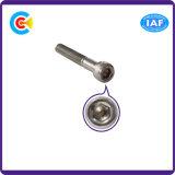 Stainless Steel M12/Hexagon Socket Knurled Cheese Head Cap Screw