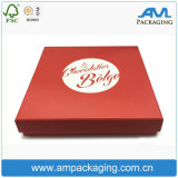 Red Printed Cheap Wholesale Chocolate Packing Food Garde Packaging Box