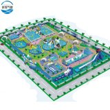 Cheap Large Outdoor Inflatable Land Water Park Big Pool Amusement Park