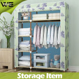 Good Designer Bedroom Furniture Folding Fabric Simple Wardrobe