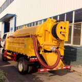 Factory Supplied Suction Sewage Truck with High Pressure Cleaning Truck